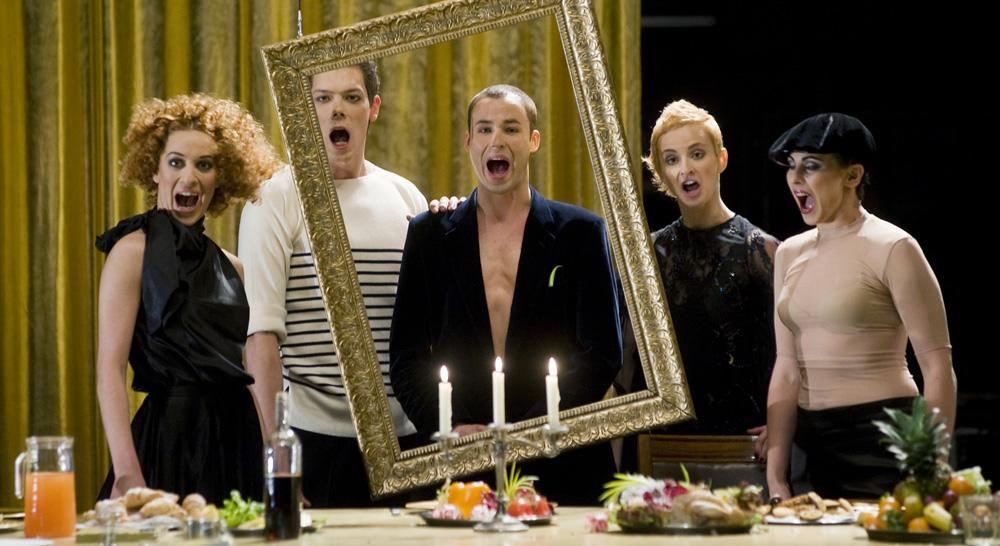 "Gytis Ivanauskas theatre's play ""Premiere"""