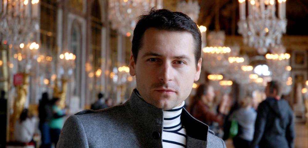 Costume designer Tomas Bagackas
