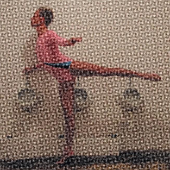 """Šokio spektaklis """"8 kvadratiniai metrai"""" - Šokti tango tam, kad išliktum - Gyčio Ivanausko teatras (N.Bieranco nuotr.)"""