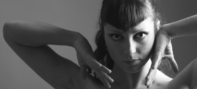 Aktorė, šokėja Irina Nazarenko