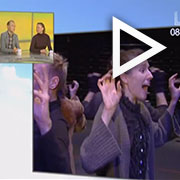 """Žiūrėti spektaklio """"Marko (Kavolių kabaretas)"""" pristatymo LRT studijoje įrašą (ištraukos iš spektaklio repeticijos)"""
